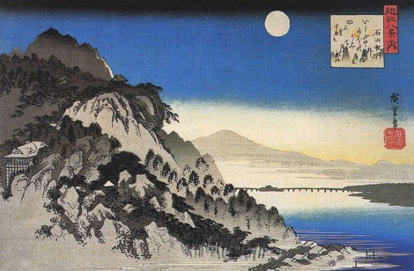 640px-Hiroshige_Full_moon_over_a_mountain_landscape