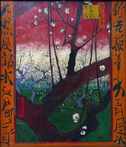 515px-Van_Gogh_the_blooming_plumtree_(after_Hiroshige),_1887