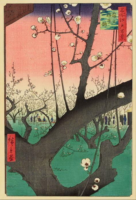 Ando_Hiroshige_-_Plum_Garden