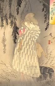 ukiyoe Okiku ghost